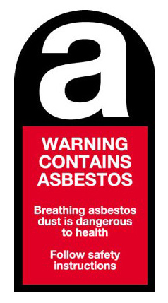 Asbestos Warning Safety Signage